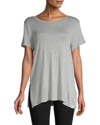 Marc New York - Crisscross Strappy Tee - Lyst