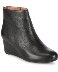 Gentle Souls - Vicki Leather Booties - Lyst