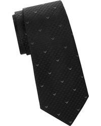 Armani - Silk Print Tie - Lyst