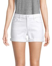 Joe's Jeans - Rosa Rolled Cuff Denim Shorts - Lyst