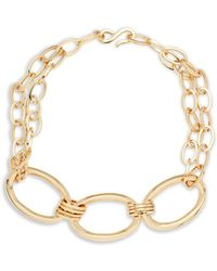 Robert Lee Morris - Three Large Linked Chain Necklace - Lyst