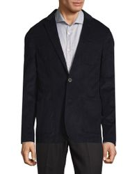 Saks Fifth Avenue - Pinwale Cord Cotton Jacket - Lyst