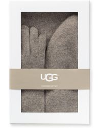 UGG - 3-piece Cashmere Beanie, Scarf And Gloves Gift Set - Lyst