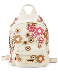 Zac Zac Posen - Small Eartha Floral Appliqué Backpack - Lyst