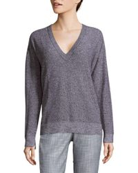 Zadig & Voltaire - Solid V-neck Pullover - Lyst