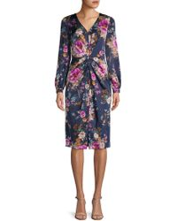 Maggy London - Carmeuse Floral Dress - Lyst