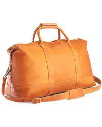 Royce - New York Columbian Leather Luxury Weekender Duffel Bag - Lyst