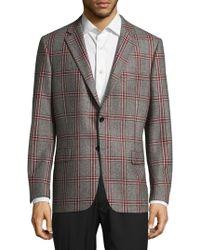 Hickey Freeman - Milburn Ii Plaid Wool Jacket - Lyst