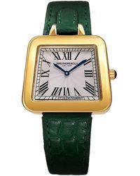 Bruno Magli - Emma Swiss Quartz Leather Strap Analog Watch - Lyst