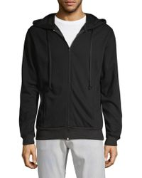 Robin's Jean - Zip-up Embroidered Hoodie - Lyst