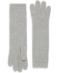Portolano - Solid Cashmere Gloves - Lyst