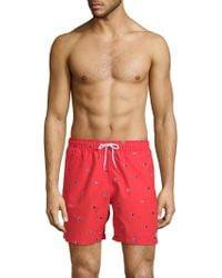 Trunks Surf & Swim - Flag Swim Shorts - Lyst