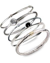 Ippolita - Sterling Silver Slim Bracelet - Lyst
