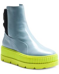 PUMA - Leather Chelsea Trainer Boots - Lyst