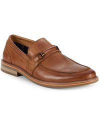 Steve Madden - Offer Leather Loafers - Lyst