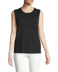 Anne Klein - Knit Shell Top - Lyst