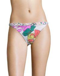 6 Shore Road By Pooja - Domingo Floral Printed Bikini Bottom - Lyst
