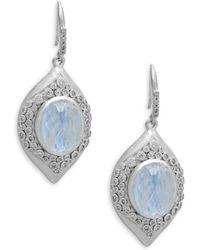 Armenta - New World Diamond & Gemstone Drop Earrings - Lyst