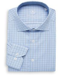 Bugatchi - Wovens Shaped Cotton Dress Shirt - Lyst