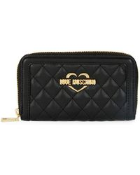 Love Moschino - Super Quilted Continental Wallet - Lyst