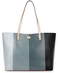 Frances Valentine - Trixie Gradient Tote (gradient Blue) Tote Handbags - Lyst