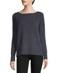 INHABIT - Rib-knit Sweater - Lyst