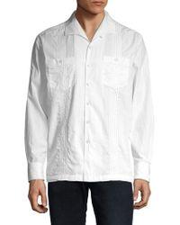 Tommy Bahama Viva Las Palmas Button-down Shirt - White