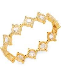 Freida Rothman - Crown 14k Gold Plated Bracelet - Lyst