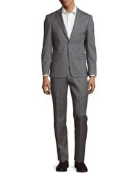 John Varvatos - Textured Wool Suit - Lyst