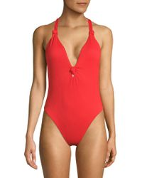 Dolce Vita - One-piece Knotted Swimsuit - Lyst