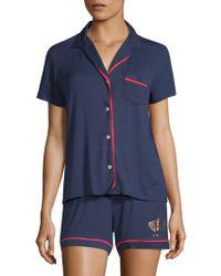 Juicy Couture - Regal Two-piece Pyjama Set - Lyst