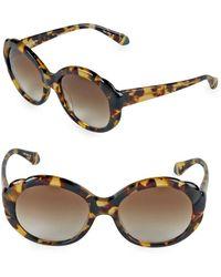 Zac Posen - Rita 56mm Oval Sunglasses - Lyst