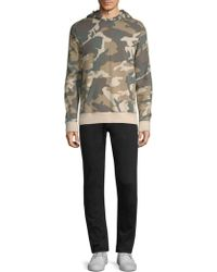 Wesc - Mike Camouflage Cotton Hooded Sweatshirt - Lyst