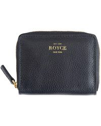 Royce - Zip Leather Credit Card Case - Lyst