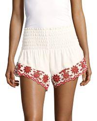 Winston White - Baja Feather Pull-on Shorts - Lyst