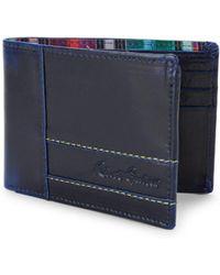 Robert Graham - Bristol Slim Leather Bi-fold Wallet - Lyst