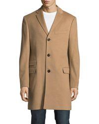 Saks Fifth Avenue - Textured Topcoat - Lyst
