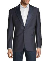 Giorgio Armani - Wool-blend Suit Jacket - Lyst
