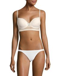 Huit - Magic Air Lace Bra - Lyst
