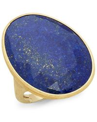 Marco Bicego - 18k Yellow Gold & Lapis Cocktail Ring - Lyst