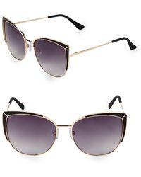Fantaseyes - 58mm Butterfly Sunglasses - Lyst