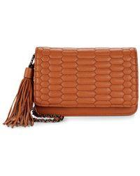 31d39db8bc Aimee Kestenberg - Medina Leather Crossbody Bag - Lyst