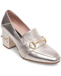 Steven by Steve Madden - Layla Leather Horsebit Loafer - Lyst