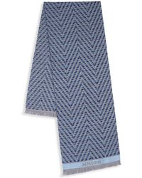 Missoni - Layered Stripe Scarf - Lyst