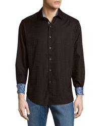 Robert Graham - Rialto Cotton Button-down Shirt - Lyst