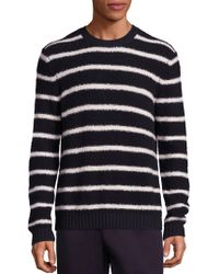 Vince - Wool Blend Textured Knit Sweater - Lyst