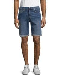 Joe's - Frayed Denim Shorts - Lyst