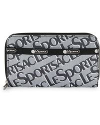 LeSportsac Logo Zip-around Wallet