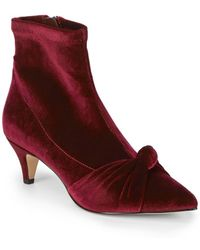 Sam Edelman - Kenna Knot Booties - Lyst