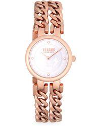 Versus - Berlin Stainless Steel Chain Link Bracelet Watch - Lyst